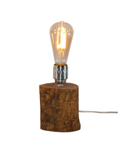 Olive wood lamp Mergaoliva