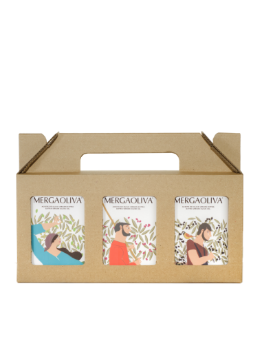 Case of 3 personalised tins