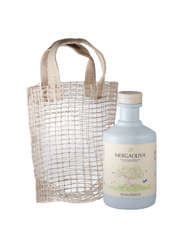 Mergaoliva ORGANIC EVOO with jute bag