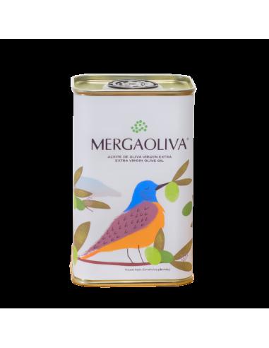 Extra virgin olive oil green olive