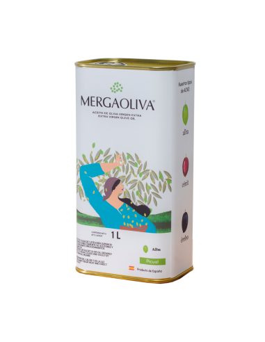 Extra Virgin Olive Oil Mergaoliva 1L TIN