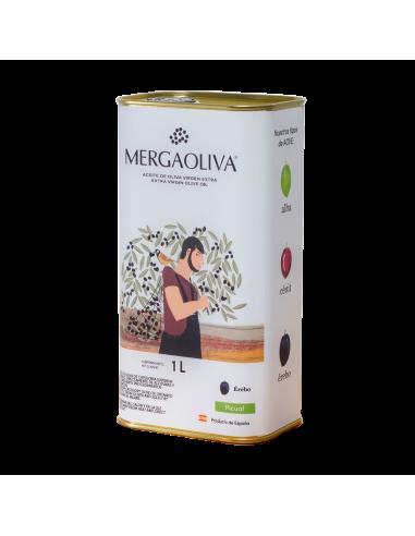 extra virgin olive oil 1 litre TIN