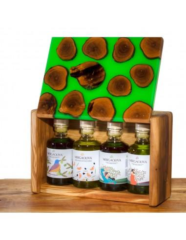 Mergaoliva caja madera olivo