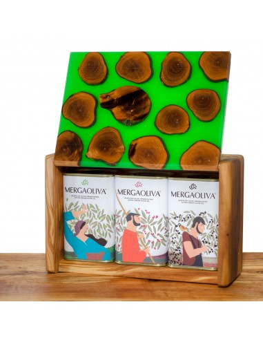Mergaoliva olive wood box