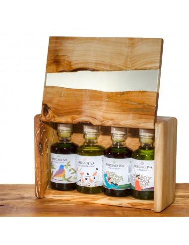 Mergaoliva olive wood and resin