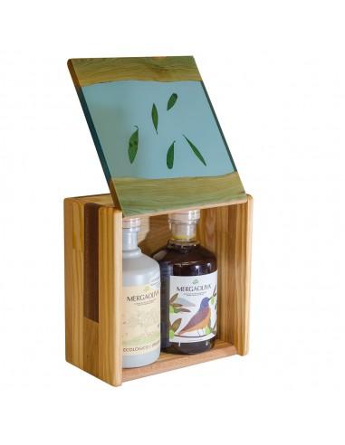 Mergaoliva olive wood case